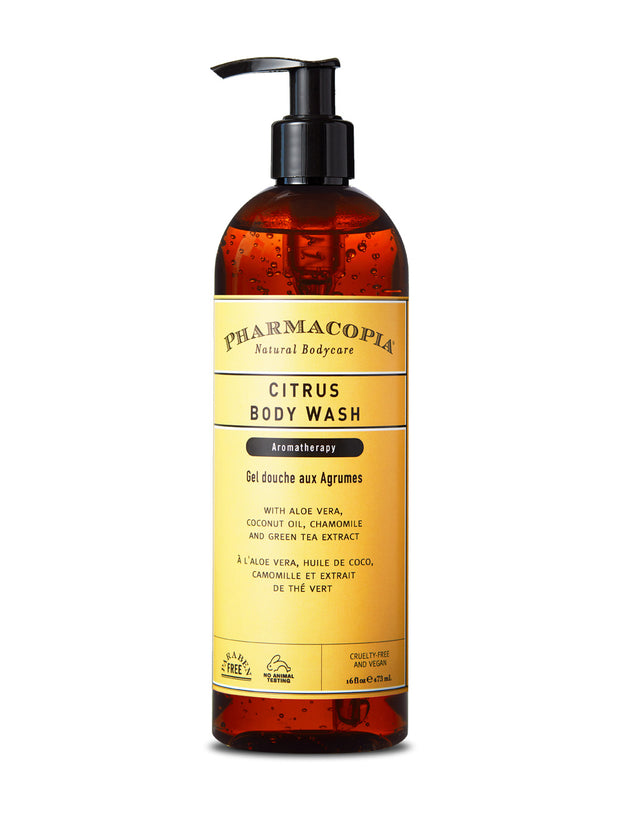 Pharmacopia Citrus Body Wash 16oz