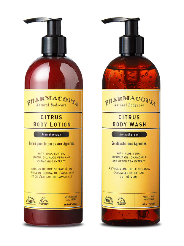 Citrus Body Wash and Lotion