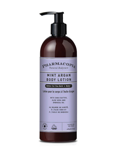 Pharmacopia Mint Argan Body Lotion 16oz