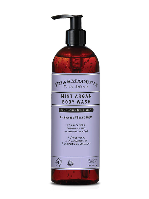 Pharmacopia Mint Argan Body Wash 16oz
