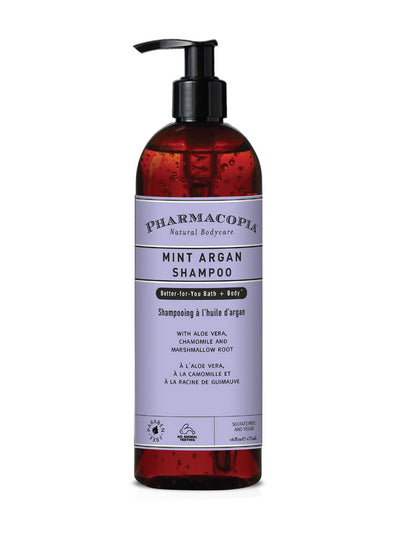 Pharmacopia Mint Argan Shampoo 16oz