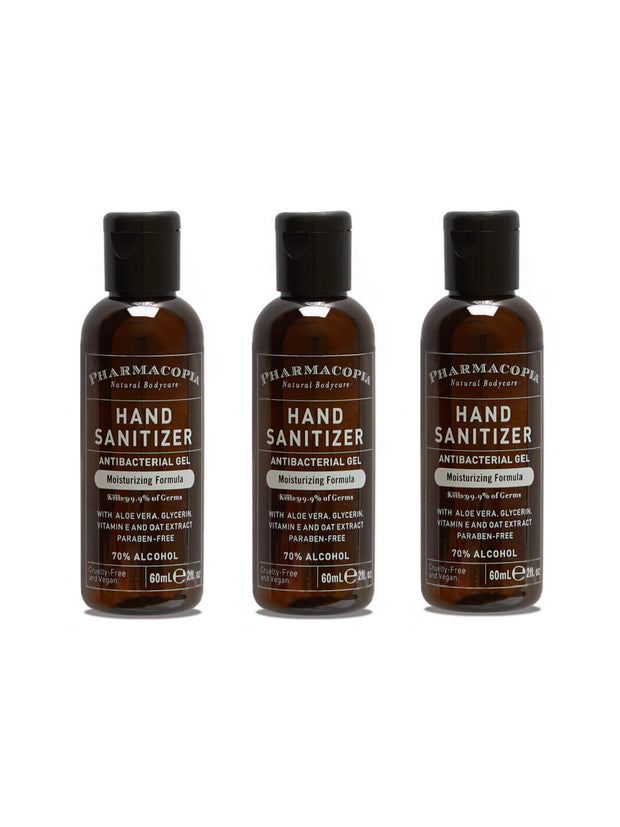 Verbena Soap 3 Pack Aloe and Oat Hand Sanitizer 2oz 3 Pack