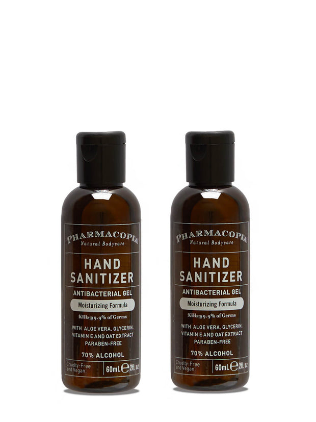 Aloe and Oat Hand Sanitizer 2oz Twin Pack