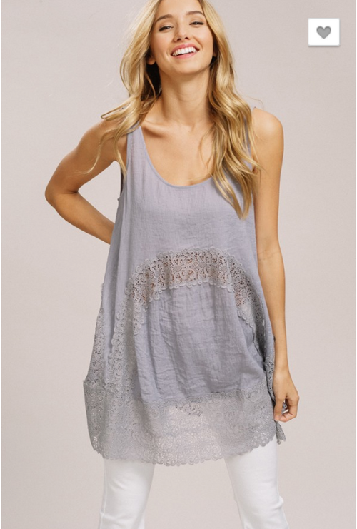 Lace tunic (2 Colors)