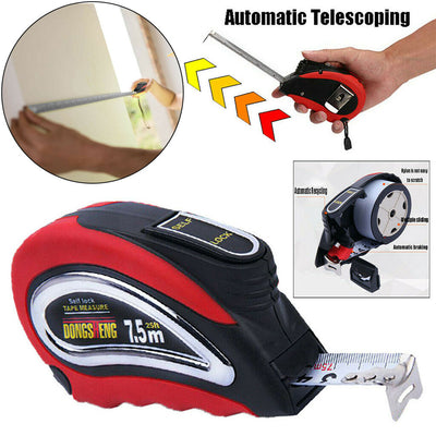 Press N' Lock Automatic Measuring Tape