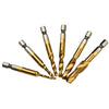 6 Piece Easy Tap Drill Set (Metric/US(SAE) Units)