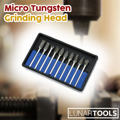 Micro Tungsten Grinding Head (Set of 10)