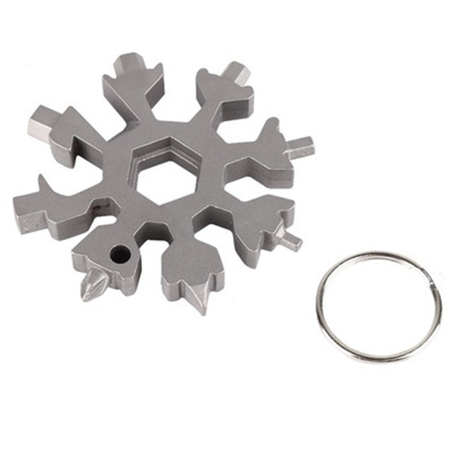 Snowflake Multifunction Pocket Tool