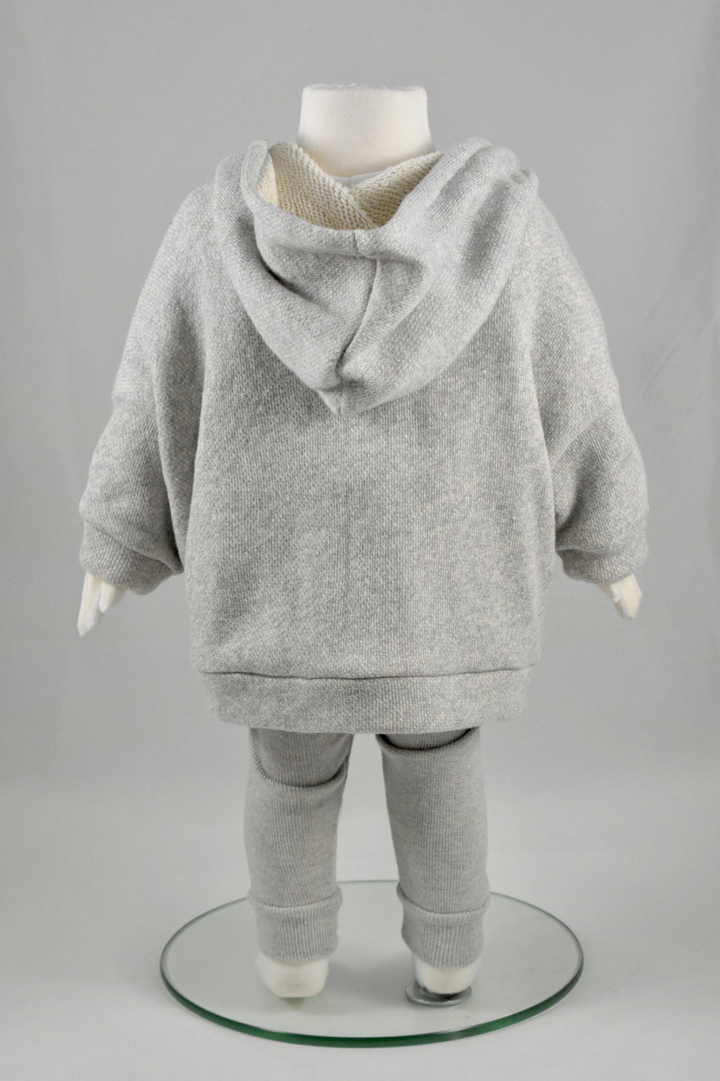 Oversized French Terry Cotton Hoodie