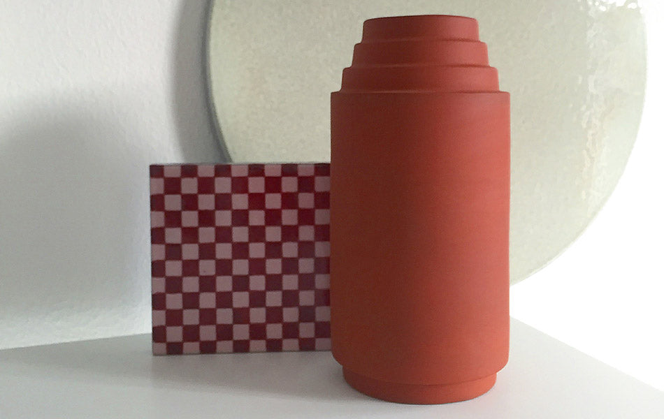 Edge Vase, Stilleben for Skagerak, designed by Stilleben