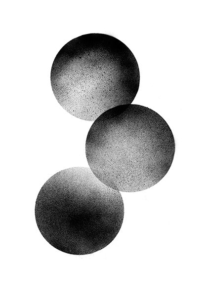 Mini Stilleben Print - Three Moons