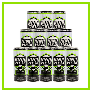Ninja Melk Original Energy Drink -12 pack (12 x 250mL Cans) - Europe