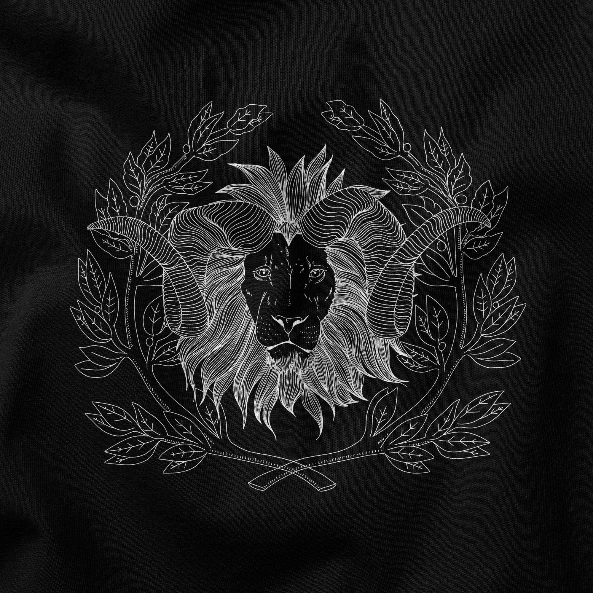 Lion's Head - Hoodie sweater