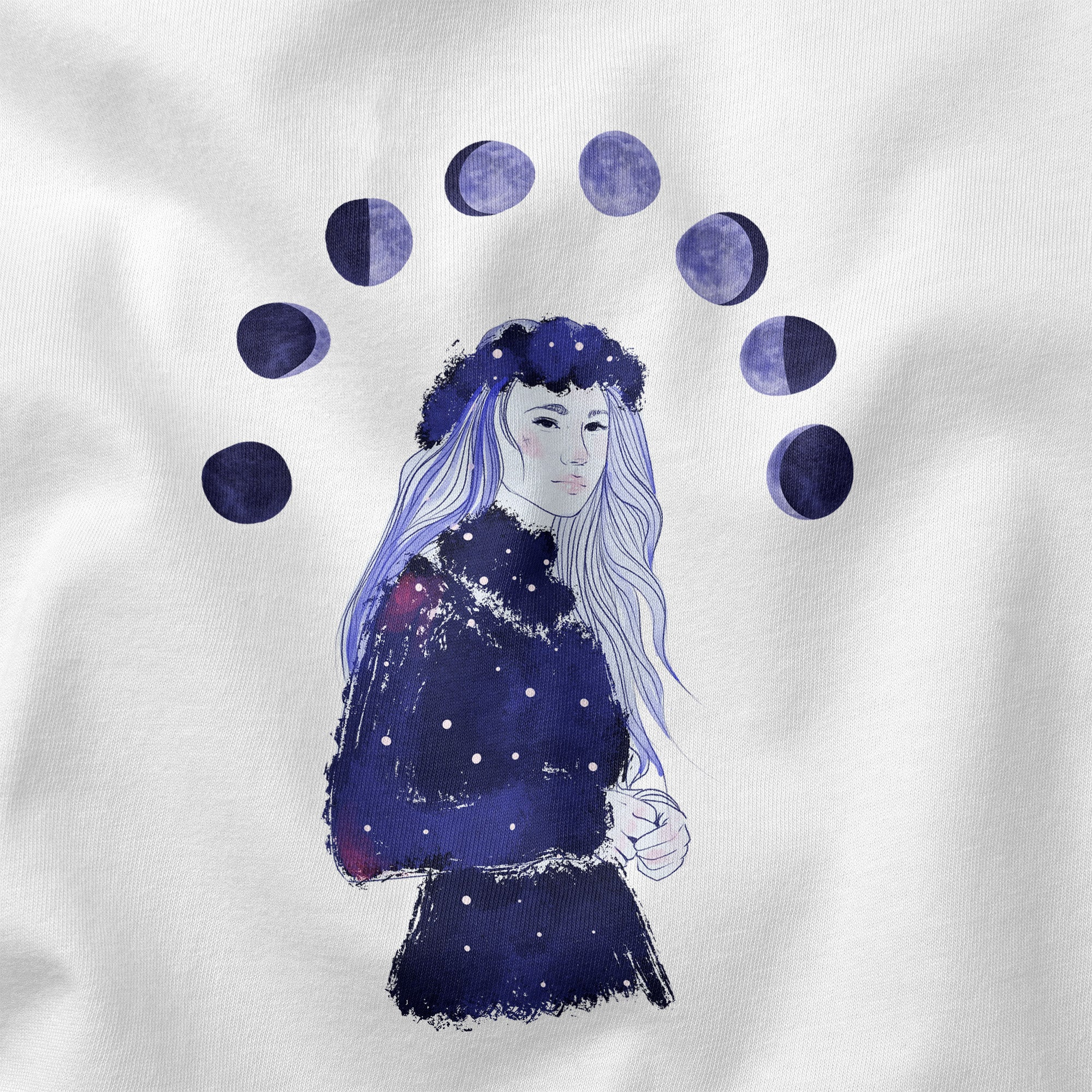Under the Moon - Unisex-T-Shirt aus Bio-Baumwolle