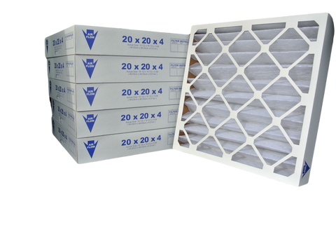16x25x4 Pleated Air Filter (Merv 8, Maxi-Pleat) (6-Pack)