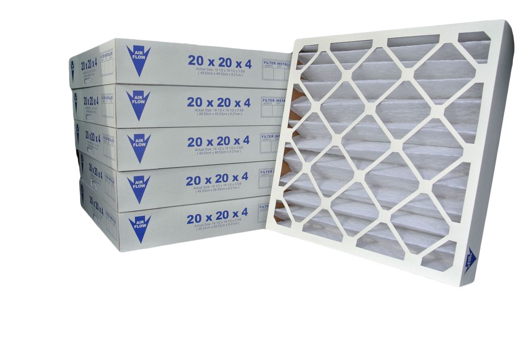 24x24x4 Pleated Air Filter (Merv 8-13, Maxi-Pleat)