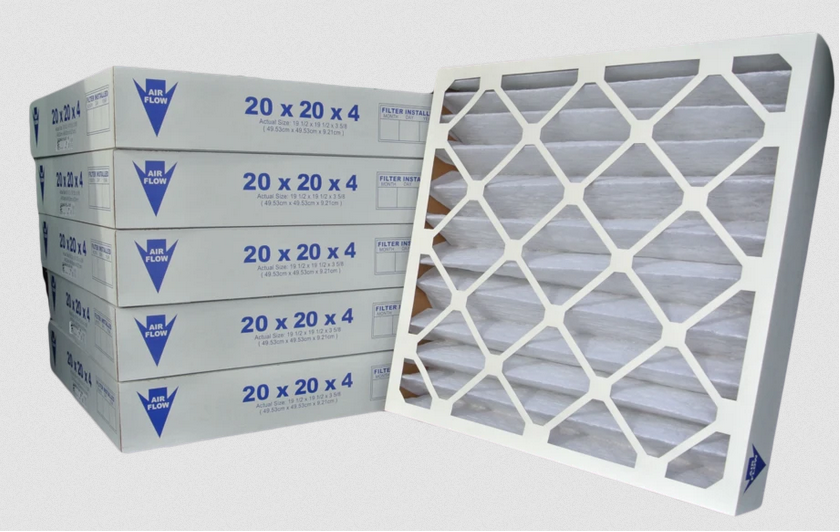 "18.25"" x 23.5"" x 4.88"" Pleated Air Filters (Merv 8, Maxi-Pleat)"