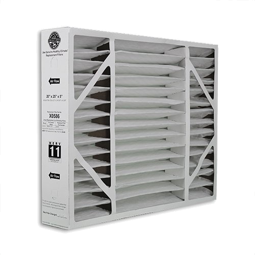 Lennox Part #X6664: 17x26x4 Pleated Air Filter