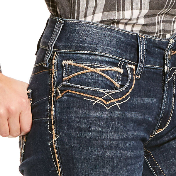 Curvy Ariat Boot Cut Jean