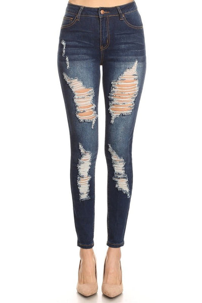 Destroyed High Rise Skinny+