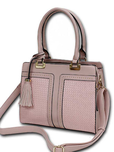 Rose Satchel W/ Tassel