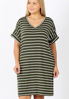 Curvy T-Shirt Dress