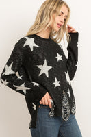 Distressed Starstruck Sweater