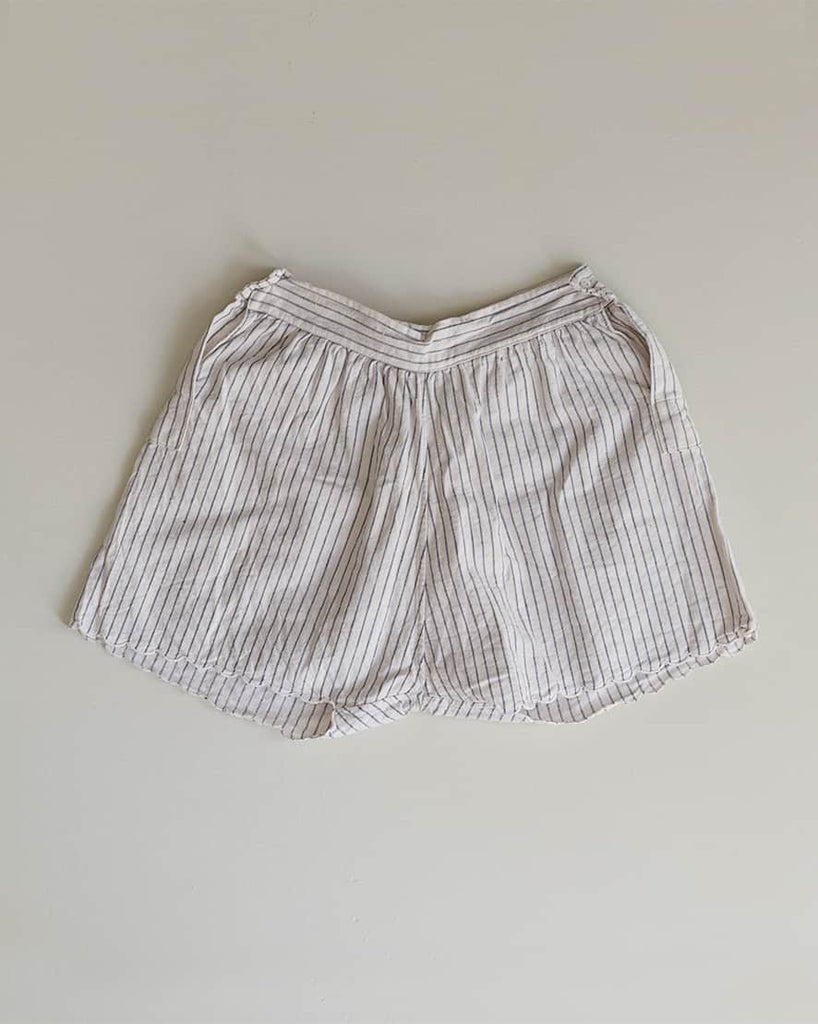 Vintage 1930s Striped Scalloped Shorts