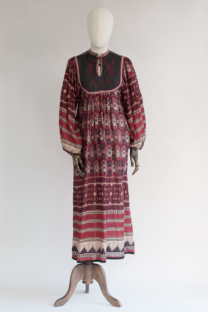 indian cotton dress