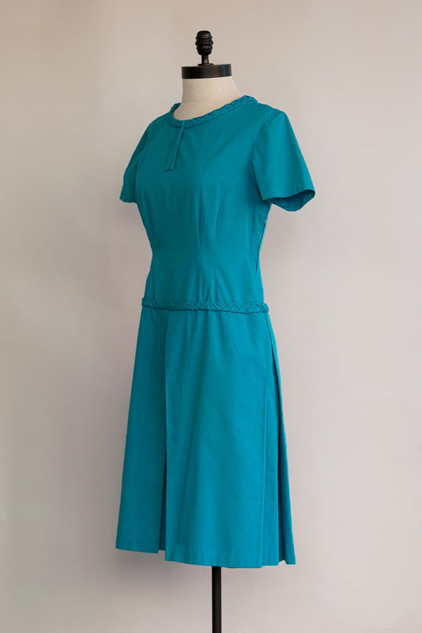 Santorini Dress | Vintage 60s Blue Dress