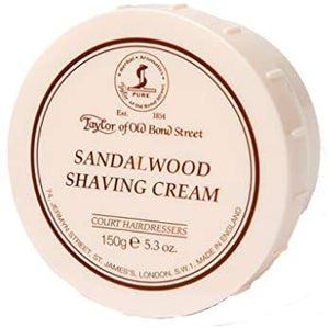 Taylor of Old Bond Street Sandalwood Shaving Cream Bowl, 5.3-Ounce