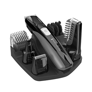 Remington PG6025 All-in-1 Lithium Powered Grooming Kit, Beard Trimmer (8 Pieces): Beauty
