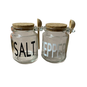 Salt & Pepper Jars