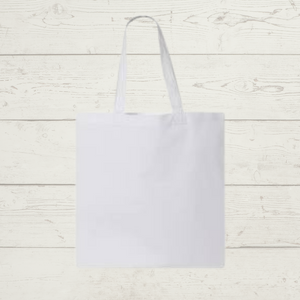 White Sublimation Tote & Gift Bags