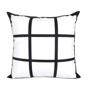 9-Panel Sublimation Pillow Cover
