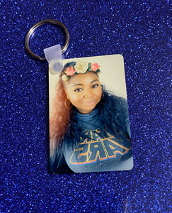Double-Sided Picture Keychain