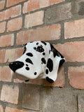Dalmatian head wall sconce