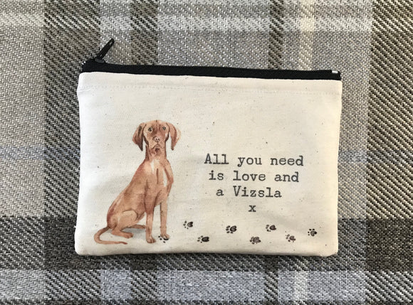 Vizsla coin purse