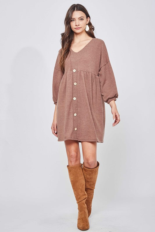 Ready for Cozy Sweater Dress