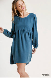 Babydoll Dress with Pockets