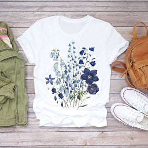Floral T-shirts