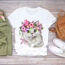 Load image into Gallery viewer, Floral T-shirts