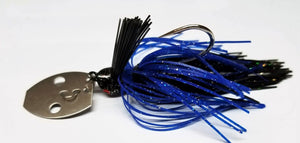 Black Sparkle Bladed Jig - BSBJ003