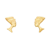 14KY Pharaoh Post Earrings
