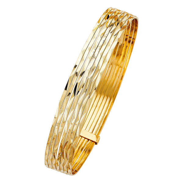 14K SEMANARIOS 7DAYS BANGLE
