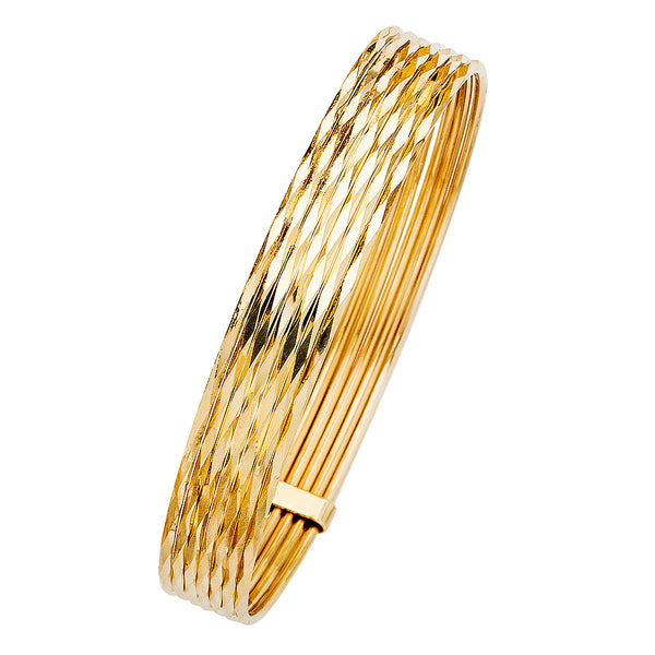 14K SEMANARIO 7DAYS BANGLE