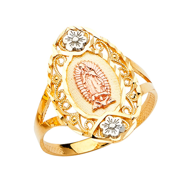 14K Guadalupe Ring
