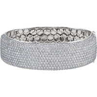 Diamond Pavé Bangle Bracelet