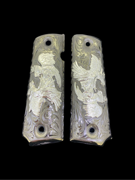 1911 Rooster Grips Cachas