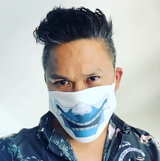Dante Basco x MM Mask ( Blue Spirit)